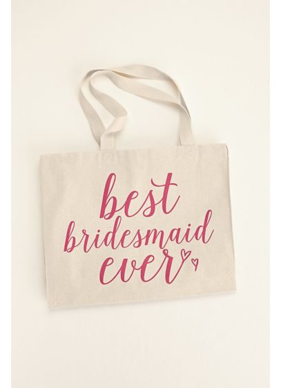 Best Bridesmaid Ever Tote Bag - Wedding Gifts & Decorations