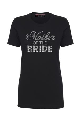 8451cb2c9266 Mother of the Bride Big Bling T-Shirt | David's Bridal