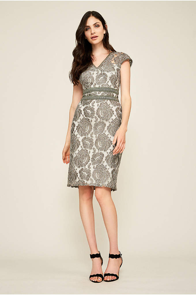 Gaia Corded Embroidery Dress - Double rows of embellishment define the waist of