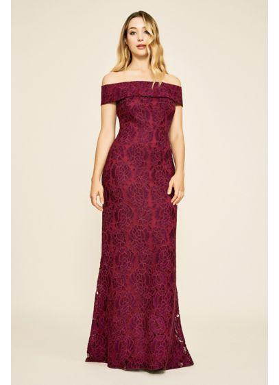 Long Sheath Off the Shoulder Formal Dresses Dress - Tadashi Shoji
