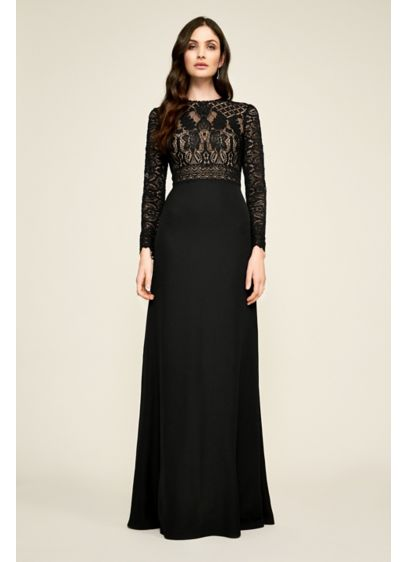Long A-Line Long Sleeves Formal Dresses Dress - Tadashi Shoji