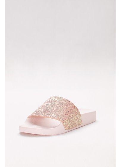 Qupid Pink (Iridescent Glitter Slides)