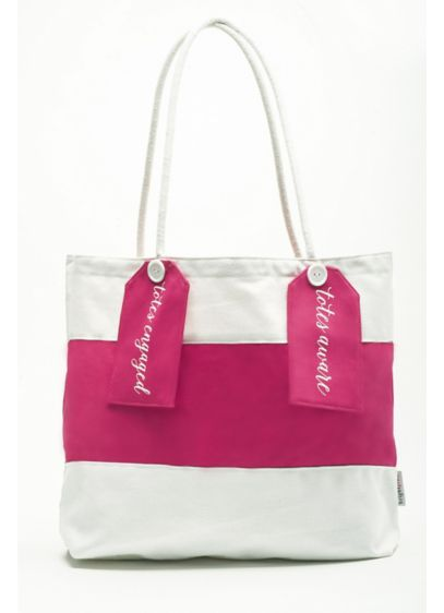 DB Exclusive Bright Pink Tote Bag - Wedding Gifts & Decorations
