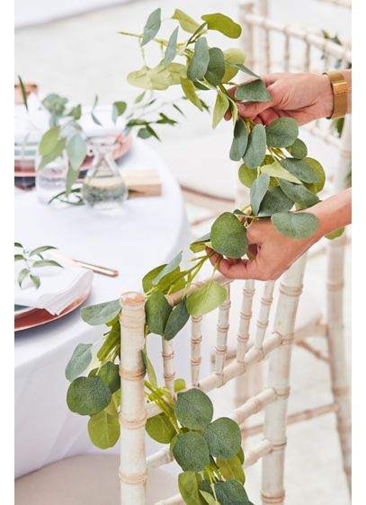 Faux Eucalyptus Garland - Create the perfect nature-inspired setting with this faux