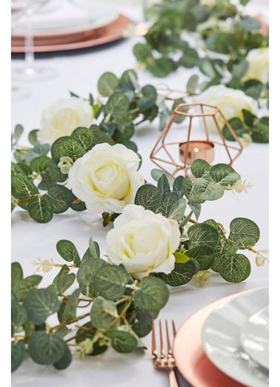 Eucalyptus and Rose Garland - Wedding Gifts & Decorations
