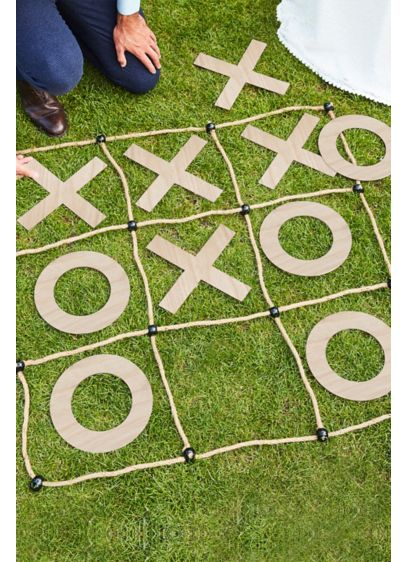 Wood and Rope Outdoor XO Party Game - Wedding Gifts & Decorations