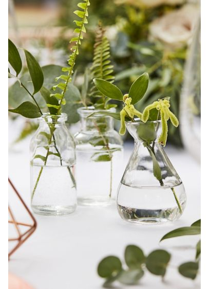 Glass Bottle Vase Set - Wedding Gifts & Decorations