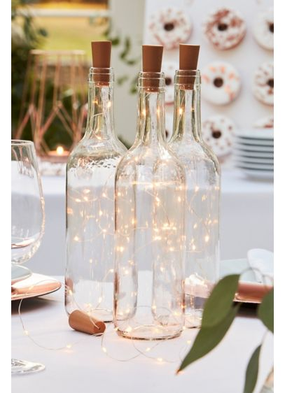 Cork Bottle Fairy Lights - These bottle lights and cork stopper are a