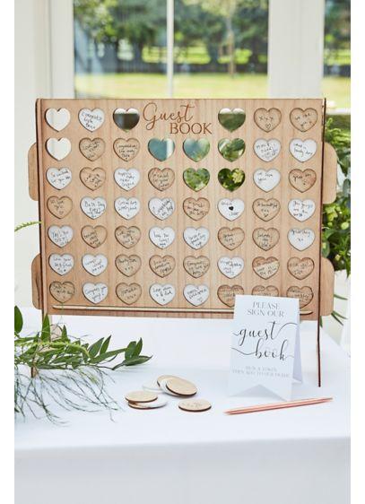 Beige (Wooden Game Board Guestbook Alternative)