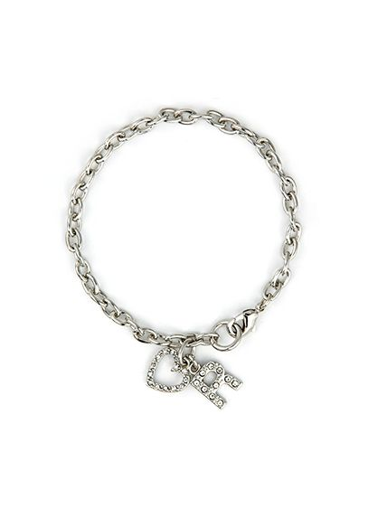 DB Exclusive Personalized Heart Charm Bracelet - It's been said that simplicity is the ultimate