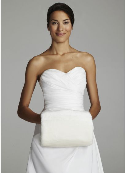 Faux Fur Muff - Wedding Accessories