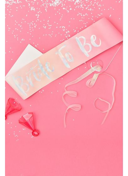 Sparkling Bride To Be Sash - Wedding Gifts & Decorations