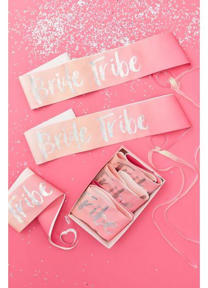Pink (Bride Tribe Foiled Sash Set)