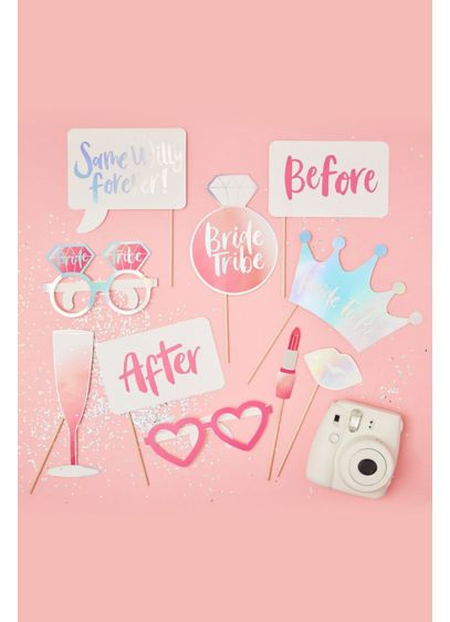 Bachelorette Party Photo Booth Props - Wedding Gifts & Decorations