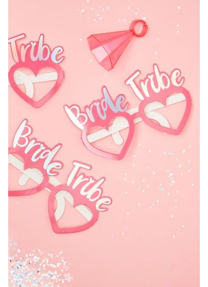 Bride Tribe Photo Prop Glasses - Pop on these iridescent
