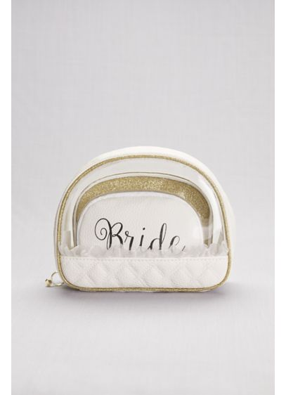 Bride Cosmetic Bag Set - Wedding Gifts & Decorations
