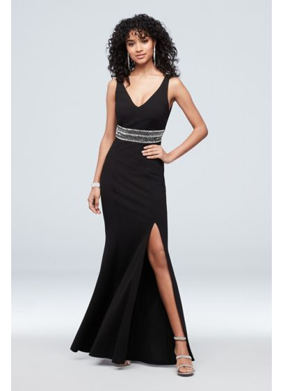 Long Sheath Tank Cocktail and Party Dress - Speechless