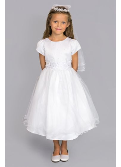 Ballgown Short Sleeves Dress - US Angels