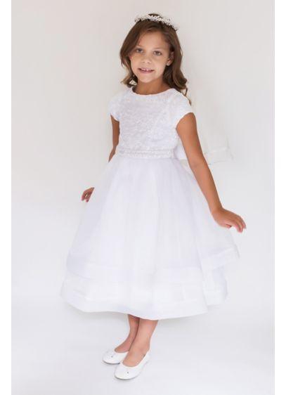 Ballgown Short Sleeves Dress - US Angels