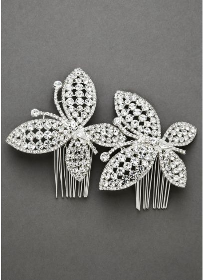 Chasing Butterfly Comb Set - Wedding Accessories