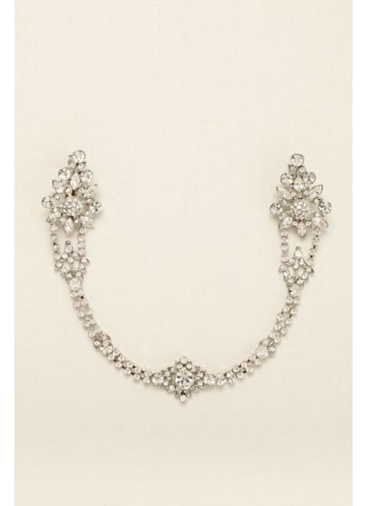 Rhinestone Pave Chain Swag - Wedding Accessories
