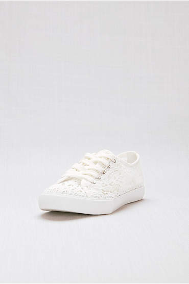 Lace Crochet Sneakers