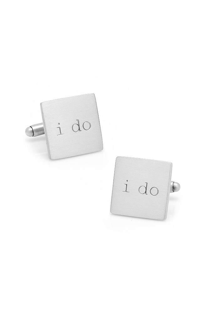 I Do Cufflinks - Help the groom say I Do with these