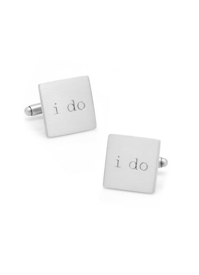 I Do Cufflinks - Help the groom say I Do with these