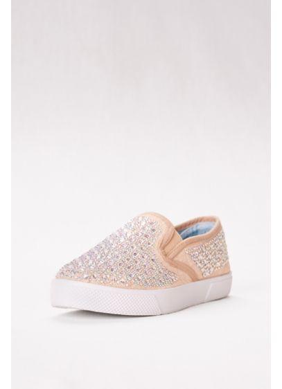 Blossom Beige (Embellished Slip-On Sneaker)