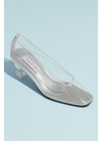 Clear Block Heel Pumps - You'll feel like a princess in this fairy-tale-inspired