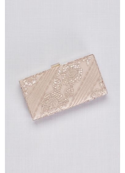 Tadashi Shoji Belmont Clutch - Add a dash of soft texture to your