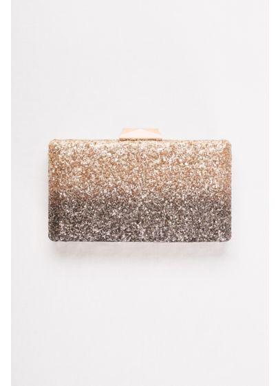 Ombre Glitter Minaudiere - Wedding Accessories