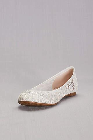 Flats de Crochet Tipo Ballerina.