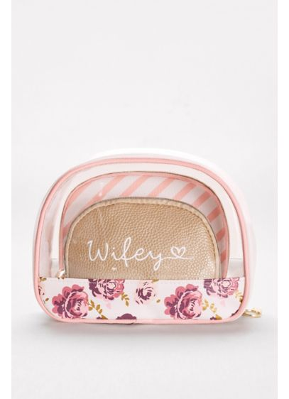 Wifey Cosmetic Bags Set of 3 - Wedding Gifts & Decorations