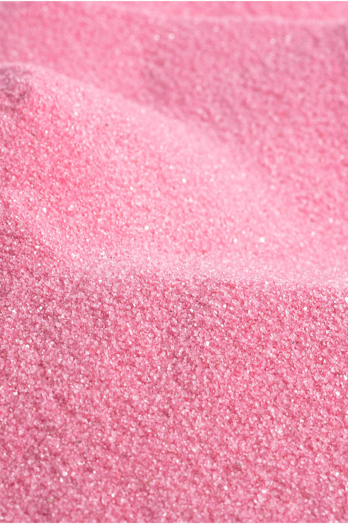 Classic Colored Sand - Elegant, sparkling colored sand adds a magical touch
