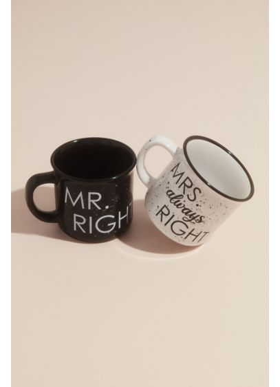 Mr Right and Mrs Always Right Campfire Mug - Sip your coffee in the great outdoors with