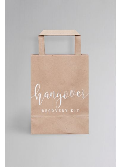 Hangover Cure Bags - Wedding Gifts & Decorations