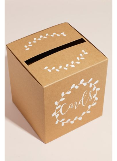 Pop-Up Script Wedding Card Box - Wedding Gifts & Decorations