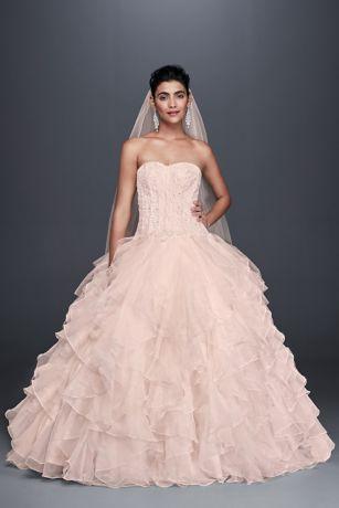 Pink Wedding Dresses Gowns Davids Bridal