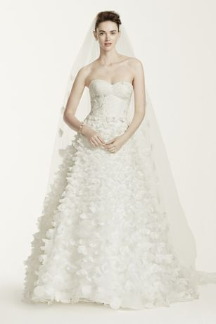 Oleg Cini Lace Wedding Dress With