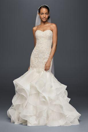 wedding dress trumpet