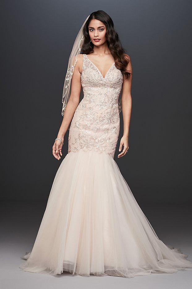 Organza A-Line Wedding Dress with Ballerina Bodice