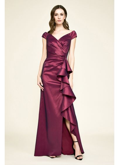 Long Cap Sleeves Formal Dresses Dress - Tadashi Shoji