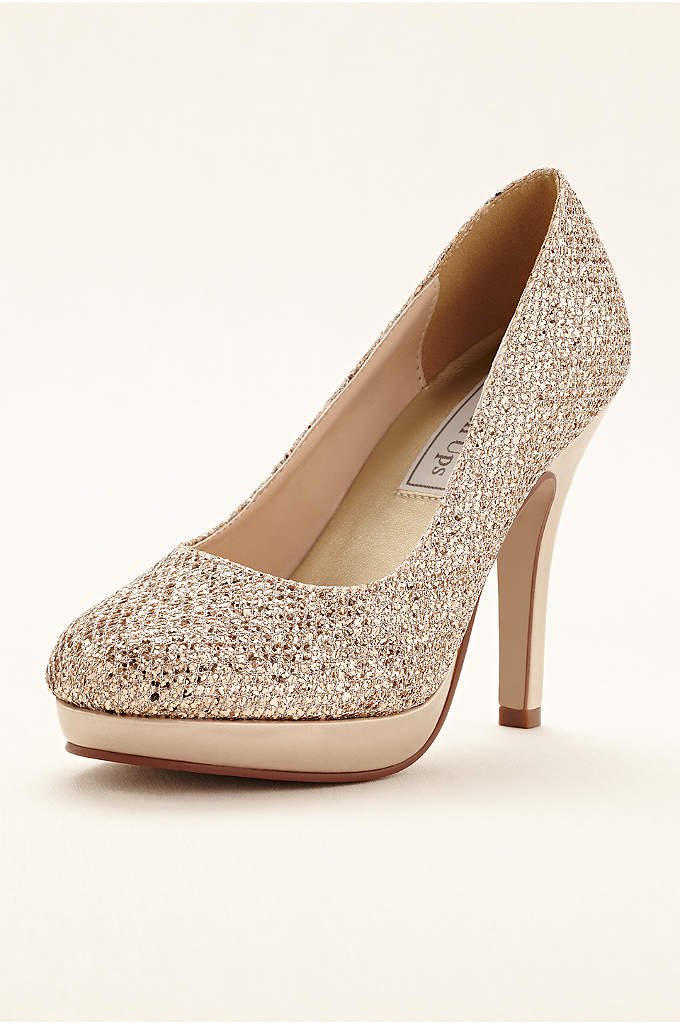 Candice Platform Pump by Touch Ups - Be the definition of glitz and glamour in