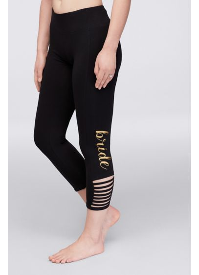Bride Leggings with Ankle Cutouts - Wedding Gifts & Decorations