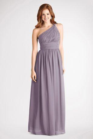 251f06167d6a Rachel Chiffon One-Shoulder Bridesmaid Dress | David's Bridal