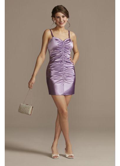 Short Sheath Spaghetti Strap Sweet 16 Dress - Jules and Cleo
