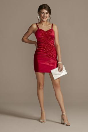 Short Sheath Spaghetti Strap Dress - Jules and Cleo