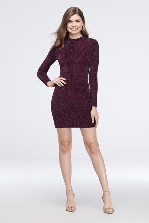 Short Sheath Long Sleeves Dress - Speechless