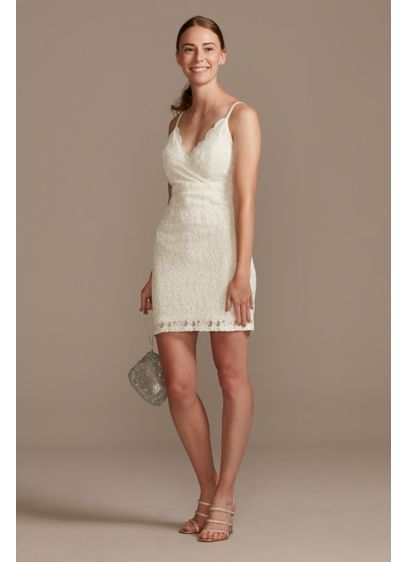 Short Spaghetti Strap Bridal Shower Dress - Speechless